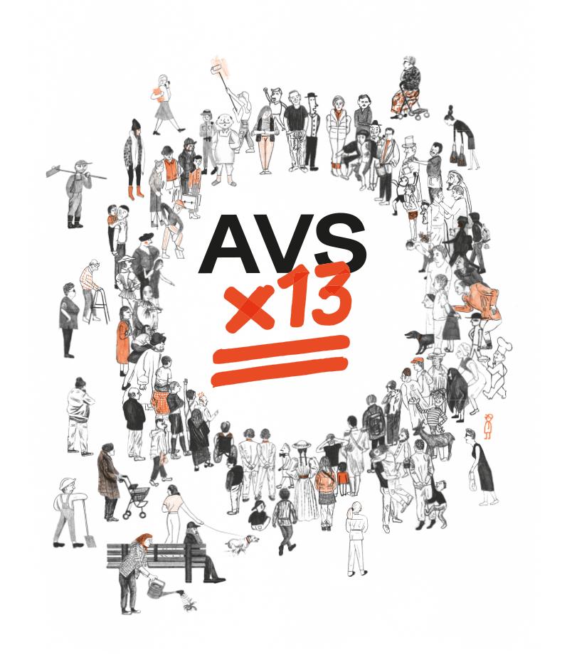 AVS x 13